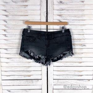 [Express] Cutoff Denim Shorts